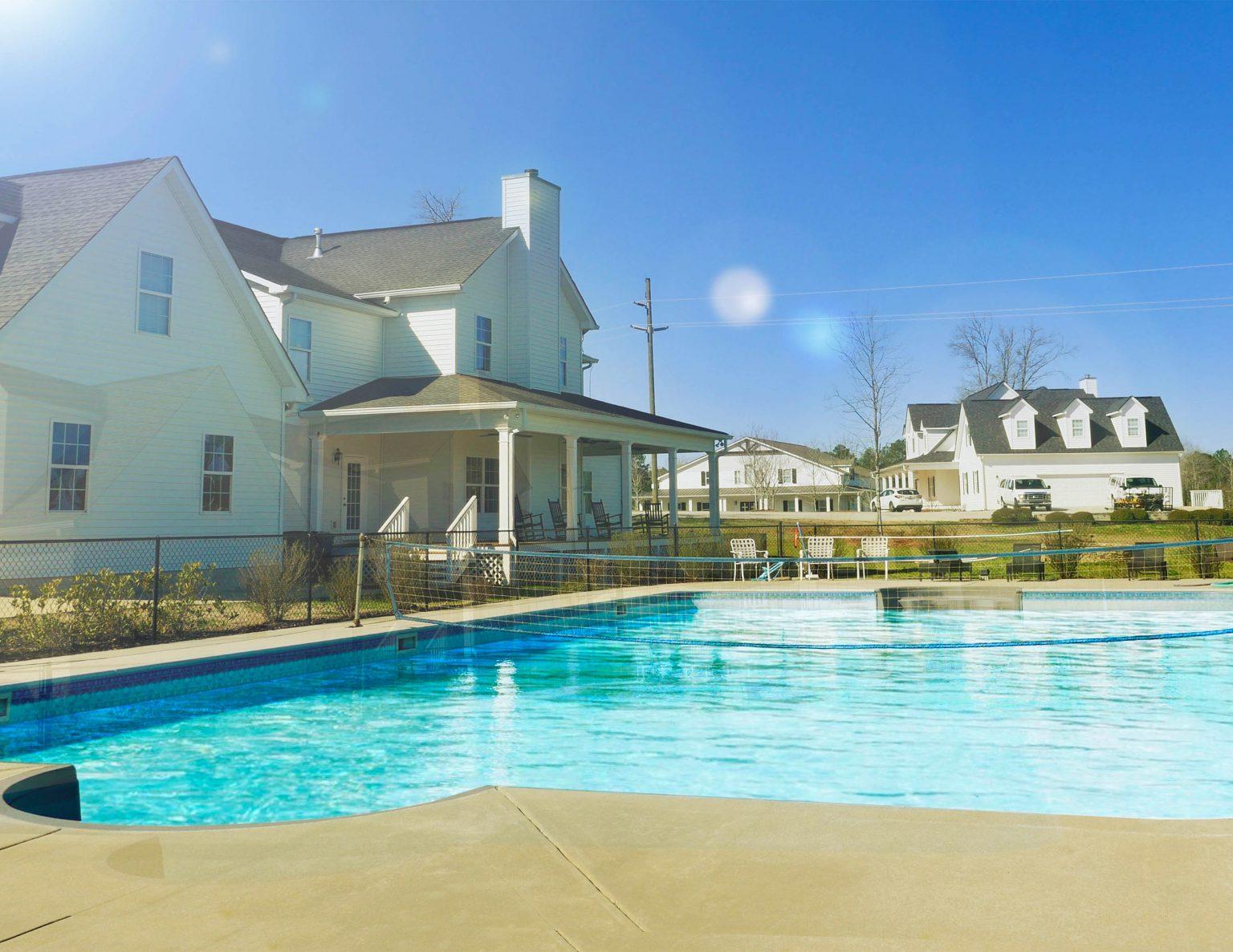 new new pool